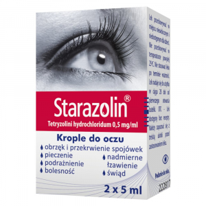 Starazolin 0,05% krople 10ml (2x5ml)