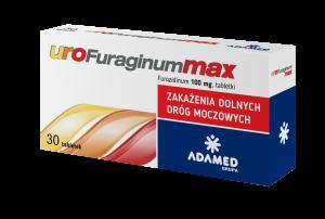 UroFuraginum Max 100mg x 30 tabl.