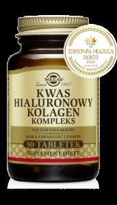 SOLGAR Kwas hialuronowy Biocell x 30 tabl.