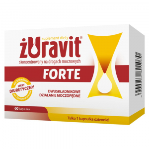 Żuravit Forte kaps.twarde 60 kaps.