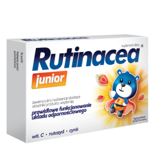 Rutinacea junior x 20 tabl. do ssania