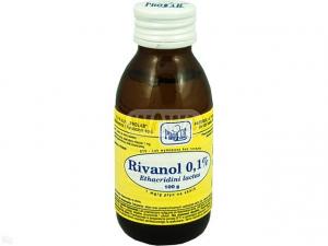 Rivanol 0,1% rozt. 1 mg/1g 100g