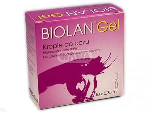 Biolan Gel 0,3% x 10 minimsów krople