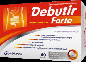 Debutir Forte kaps. 0,3 g 60 kaps.