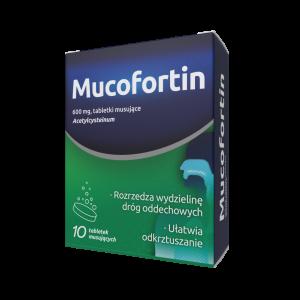 MUCOFORTIN (Nacecis) 600mg 10 tabl.mus.