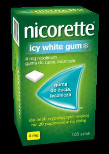 Nicorette Icy White Gum 4mg x105