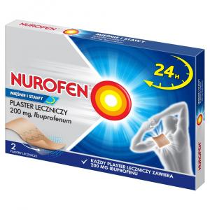Nurofen Mięśnie i Stawy Plaster 2szt.