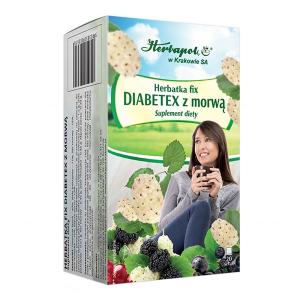 Herbatka DIABETEX Z MORWĄ herbata 1,5g 20s