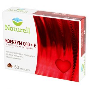 Koenzym Q-10+E 0,03g 60kaps NATURELL