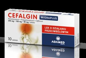 Cefalgin MIGRAPLUS x 10 tabl.
