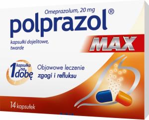 Polprazol Max 20mg x 14kaps.