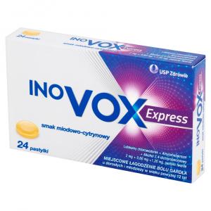 Inovox Express smak miodowo-cytrynowy x24