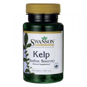 SWANSON Kelp kaps. 250 kaps.