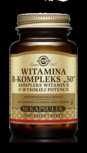 SOLGAR Witamina B-kompleks x 50 kaps.