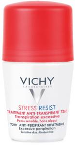 VICHY DEO STRESS RESIST antyperspirant Kulka czerwona 72h