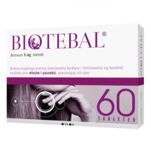 Biotebal 5mg x 60tabl.