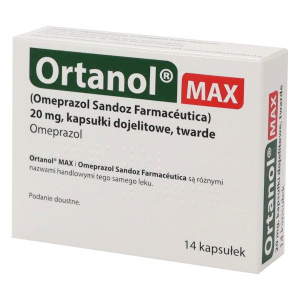Ortanol Max kaps.dojel. 0,02g 14kaps Pharm