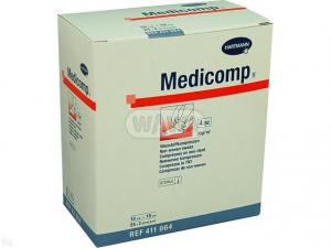 Kompresy MEDICOMP JAŁOWE 10x10cm 25x2szt.