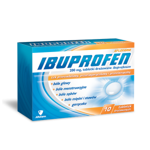 Ibuprofen 200mg x 10 tabl.