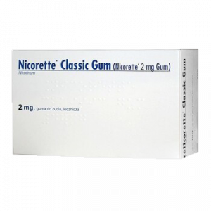 Nicorette Classic Gum 2mg Delfarma
