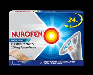 Nurofen Mięśnie i Stawy Plaster 4szt.