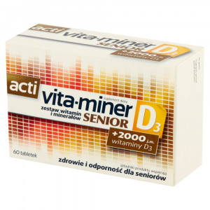 Acti Vita-miner Senior D3 tabl. 60 tabl.