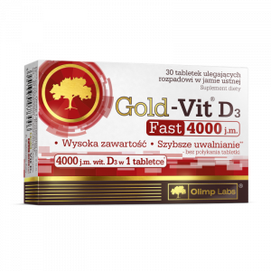Olimp Gold-Vit D3 Fast 4000 j.m. x 30tabl.