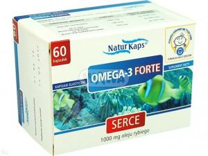 Omega-3 Forte 1g 60 kaps. NATURKAPS