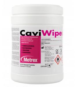 CaviWipes Chusteczki do dezynfekcji powierzchni 160 szt.