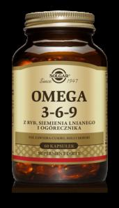 SOLGAR Omega 3-6-9 x 60 kaps.
