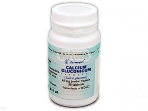 Calcium gluconicum Farmapol tabl. 0,045gCa