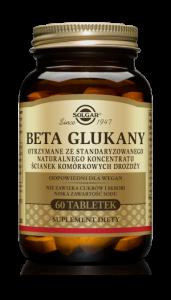 SOLGAR Beta 1,3 Glukany tabl. 0,2g 60tabl.