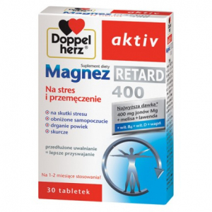 Doppelherz aktiv Magnez Retard 400 tabl. 3