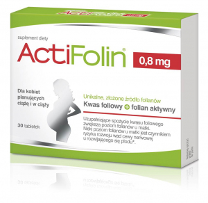 ActiFolin 0,8mg x30tabl.