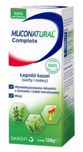 Muconatural Complete syrop żel. 128 g