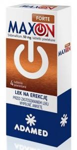 MAXON FORTE 50mg - 4 tabletki powlekane