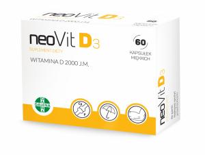 NeoVit D3 kaps.miękkie 2 000 j.m. 60 kaps.