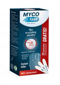 MYCOfast + 20 pilniczków jednorazowych gra