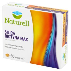 NATURELL Silica Biotyna Max tabl. 60tabl.