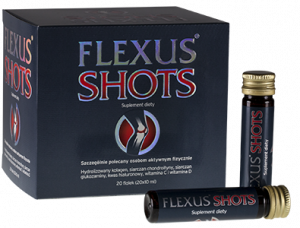 Flexus Shots płyn doustny 20 fiol.a 10ml