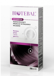 BIOTEBAL Szampon p/wypadaniu włosów 200ml