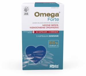 Omega Forte 65% Nutropharma 60 kaps.