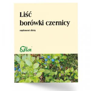 Liść Borówki Czernicy zioła sypkie 50 g