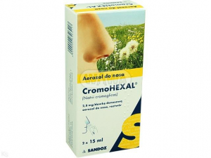 Cromohexal Nasal aerozol 20mg/ml - 30ml