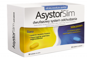 Asystor Slim x 60 tabl.