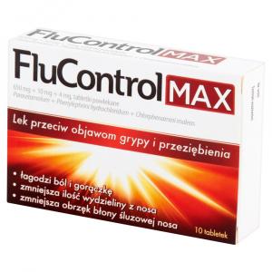 Flucontrol Max x 10 tabl