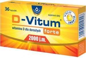 D-Vitum Forte 2000 x 36 kaps