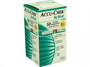 Test paskowy Accu-Chek Active x 50 szt.
