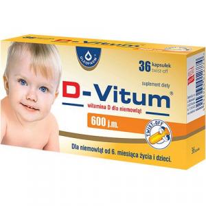 D-Vitum 600j.m. x 36 twist-off
