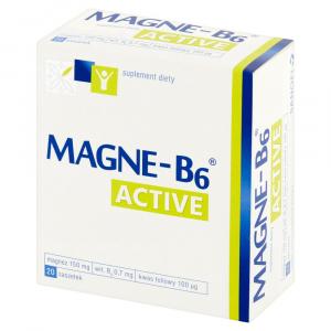 Magne B6 Active x 20sasz.